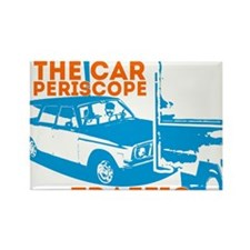 Car Periscope Shirt Rectangle Magnet