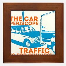 Car Periscope Shirt Framed Tile