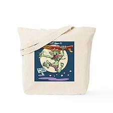 surf-monster-PLLO Tote Bag