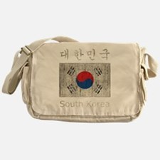 Vintage South Korea Messenger Bag