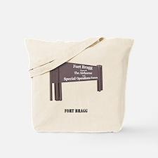 Fort Bragg Tote Bag
