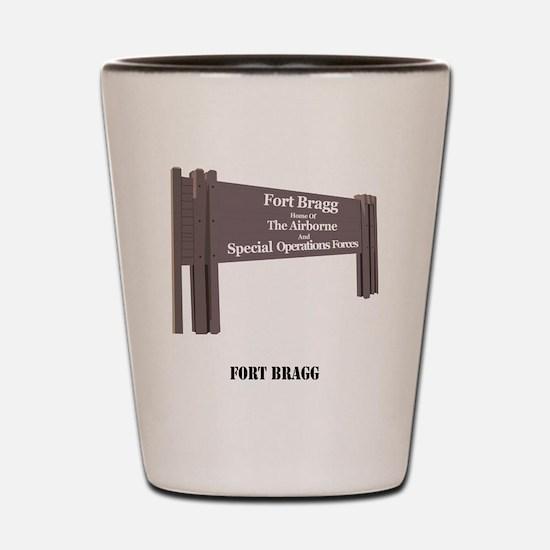 Fort Bragg Shot Glass