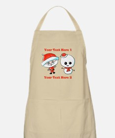 Cute Christmas Characters Apron