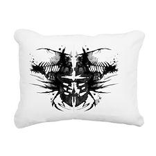 Rorshach Series Rectangular Canvas Pillow