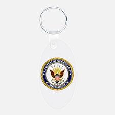 USN Navy Retired Eagle Keychains