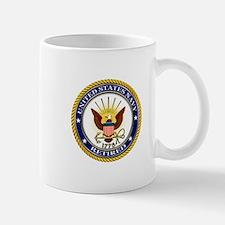 USN Navy Retired Eagle Mugs