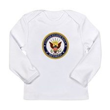 USN Navy Retired Eagle Long Sleeve T-Shirt