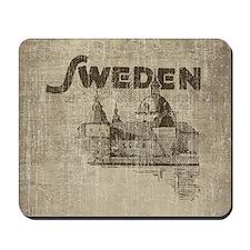 Vintage Sweden Mousepad