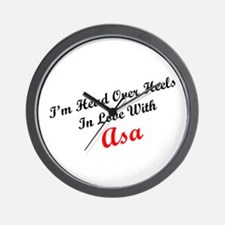 In Love with Asa Wall Clock