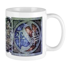 """Stylized Yin Yang II"" Mug ~ cool iron"
