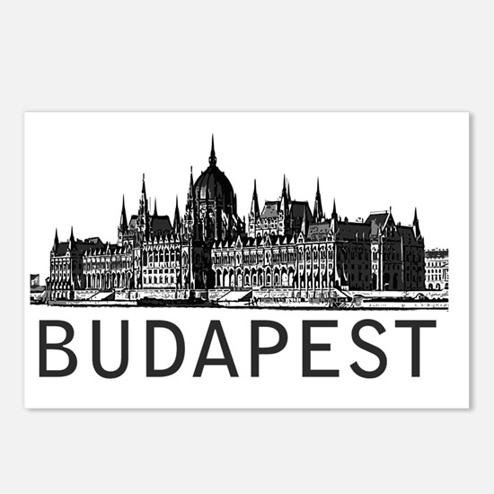 Budapest Postcards (Package of 8)