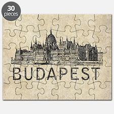 Vintage Budapest Puzzle