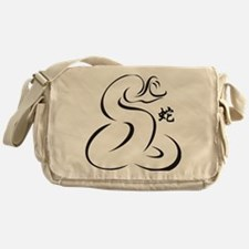 Year of Snake Messenger Bag