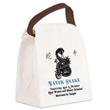 Year of the Water Snake Canvas Lunch Bag