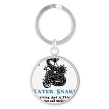 Year of the Water Snake Round Keychain