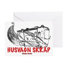 Trailer Trash Sweden Greeting Card