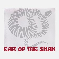 Year of Snake Throw Blanket