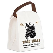 Year of Wood Snake Canvas Lunch Bag