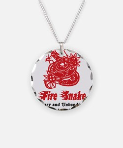 Year of Fire Snake Necklace