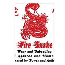 Year of Fire Snake Postcards (Package of 8)