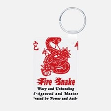 Year of Fire Snake Keychains