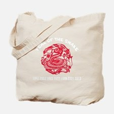 Year of Snake Tote Bag