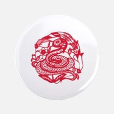 "Year of Snake 3.5"" Button"