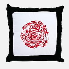 Year of Snake Throw Pillow