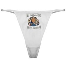 Adorable Pre-K Kids Classic Thong