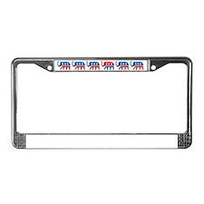 GOP Line License Plate Frame