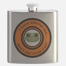 I have swamp ass won't you come visit frog t Flask