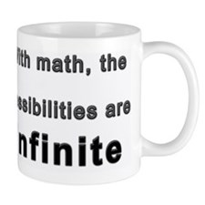 With math, the possibilities are infini Mug