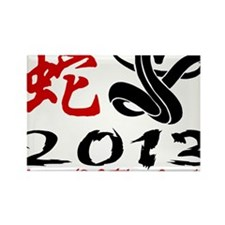 Year of Snake 2013 Rectangle Magnet