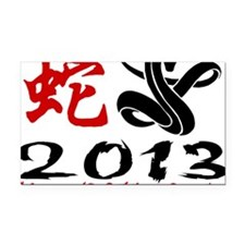 Year of Snake 2013 Rectangle Car Magnet