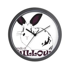 Friends Of Willow Wall Clock