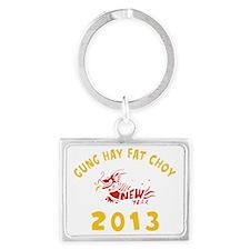 Gung Hay Fat Choy 2013 Landscape Keychain