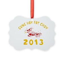 Gung Hay Fat Choy 2013 Ornament