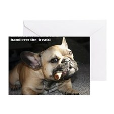 Hand Over the Treats Greeting Card