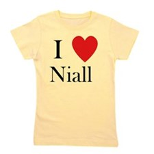 i love niall shirt heart Girl's Tee