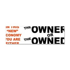 OwnerorOwned Car Magnet 10 x 3