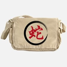 Year of Snake Messenger Bag
