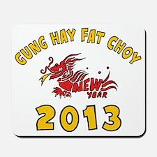 Gung Hay Fat Choy 2013 Mousepad