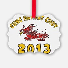 Gung Hay Fat Choy 2013 Ornament