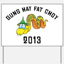 Gung Hay Fat Choy 2013 Yard Sign