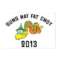 Gung Hay Fat Choy 2013 Postcards (Package of 8)