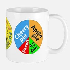 3 piece peace pies Mug