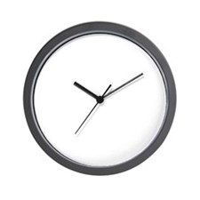 _SPOT_logo-circle-hookah_white Wall Clock