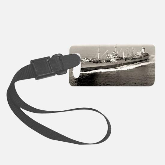 uss mispillion rectangle magnet Luggage Tag