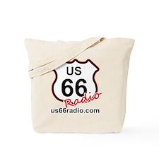 US 66 Radio Tote Bag