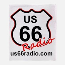 US 66 Radio Throw Blanket